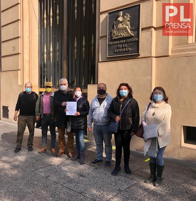 JUNAEB: Funcionarios presentan denuncia