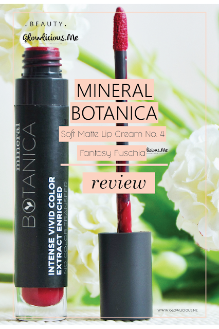 Review | Mineral Botanica Soft Matte Lip Cream in Fantasy Fuschia No. 4