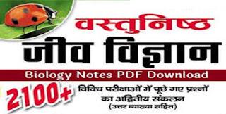Biology Hindi Notes