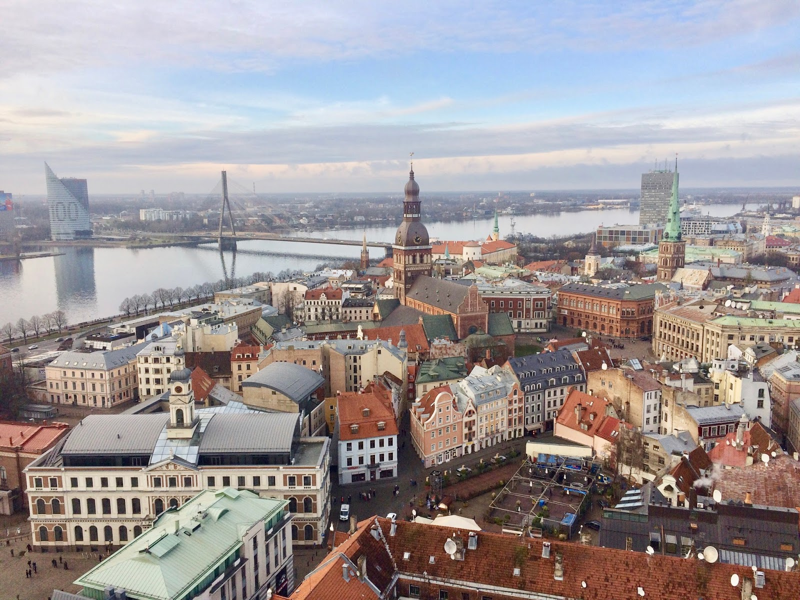 Image of Riga from St Peter's Church