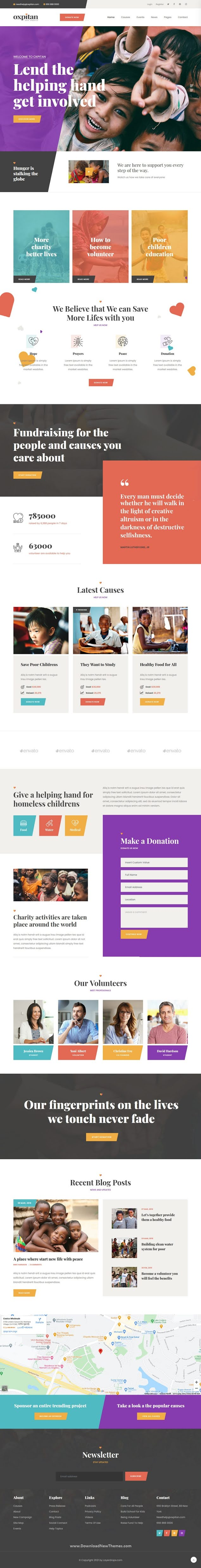 Gatsby React Nonprofit Charity Template
