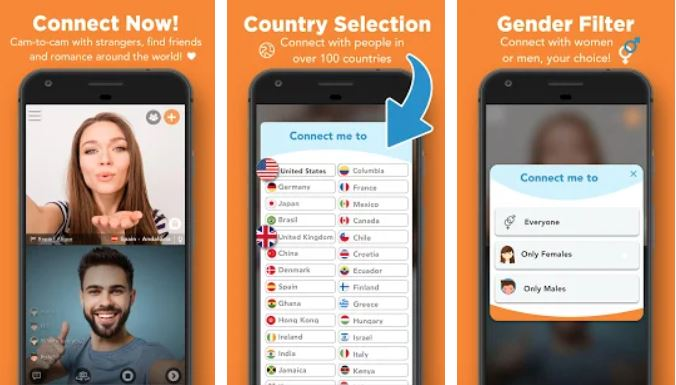 Chat iphone random for video web Chat with