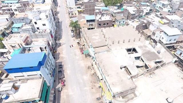 बुरहानपुर में पहले 24 घंटे का लॉक डाउन रहा पूरी तरह सफल, जिला प्रशासन एवं पुलिस की मुस्तेदी से | Burhanpur main pehle 24 ghante ka lockdown rha puri tarha safal