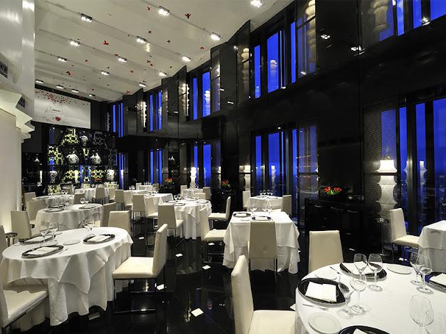 restaurant volvoreta eurostars madrid cuatro torres spain