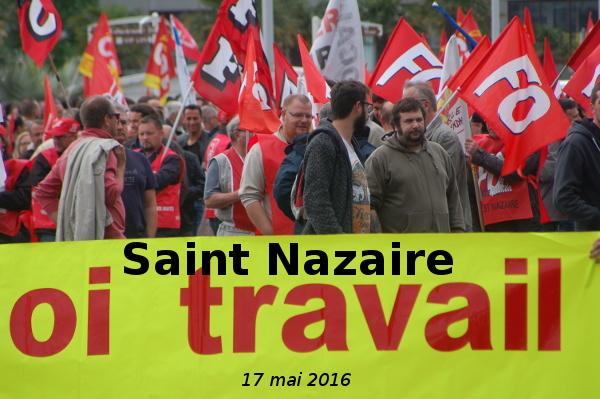 #LoiTravail : Forte mobilisation le 17 mai en Loire Atlantique