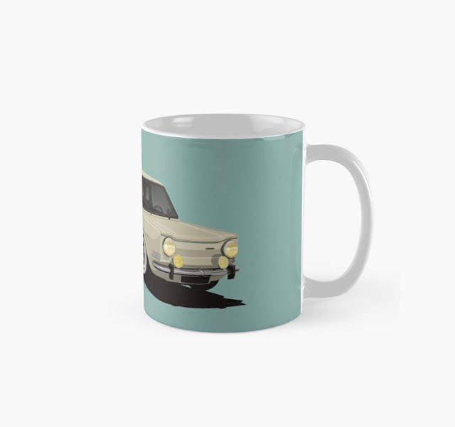 Simca 1000 coffee mug