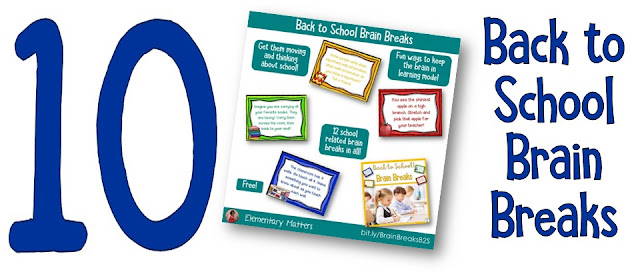 https://www.teacherspayteachers.com/Product/Back-to-School-Brain-Breaks-Freebie-1343253?utm_source=Blog%20Post%20back%20to%20school%20freebies&utm_campaign=Back%20to%20School%20Brain%20Breaks