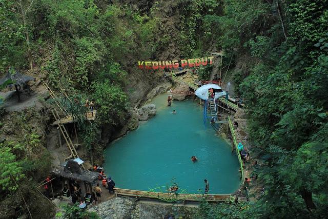 Tempat wisata Air terjun kedung pedut Kulonprogo Yogyakarta | paket wisata | harga tiket | alamat