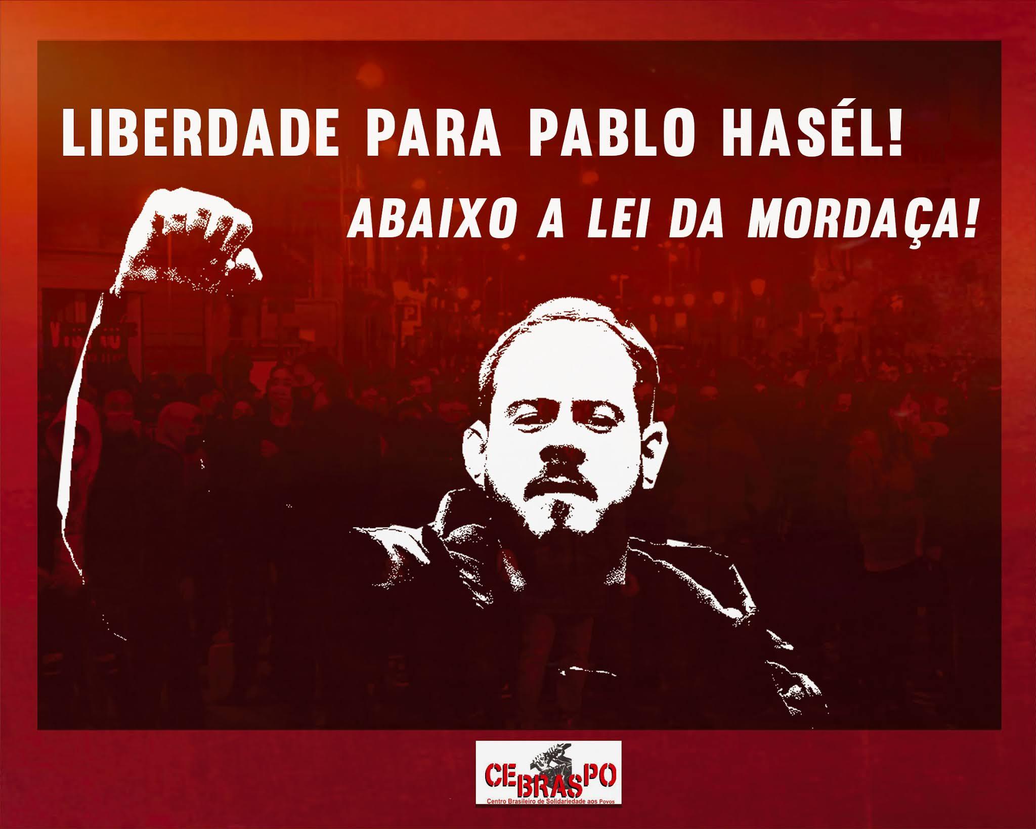 LIBERDADE PARA PABLO HÁSEL