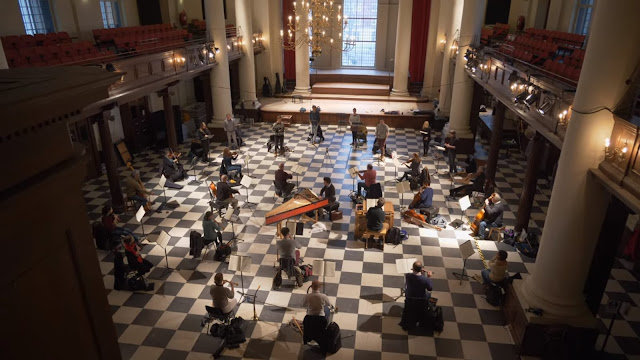 Bach: St Matthew Passion - Amici Voices in rehearsal at St John's Smith Square