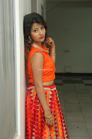 Shubhangi Bant in Orange Lehenga Choli Stunning Beauty ~  Exclusive Celebrities Galleries 032.JPG