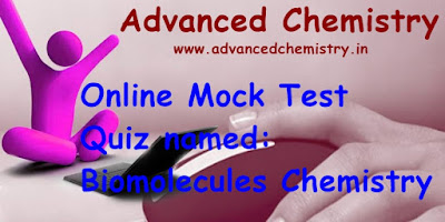 Online Skill Test IIT JEE Main Chemistry (Biomolecules), IIT JEE Main Chemistry (Biomolecules) online Test, Test your knowledge in IIT JEE Main Chemistry