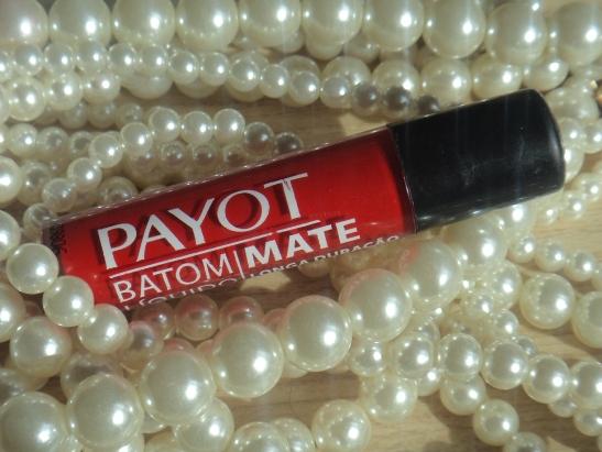 Resenha - Batom Matte Payot - Vermelho Rock