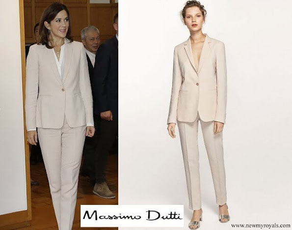 Princess Mary wore Massimo Dutti pantsuit