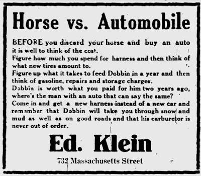 Horse vs Automobile