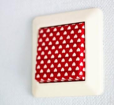 Cara Membuat Saklar menjadi Unik dengan Washi Tape / Kertas Motif