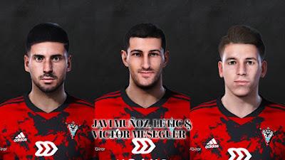 PES 2021 Facepack La Liga SmartBank Vol 13 by Dani