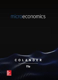 Microeconomics by David C. Colander