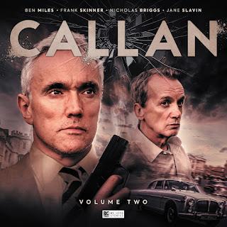 Callan Vol 2 cover showing both actors and a 1960s car