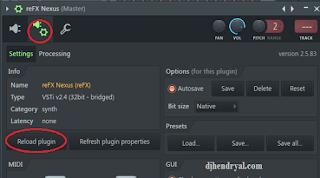 atasi Nexus plugin tidak ada bunyi