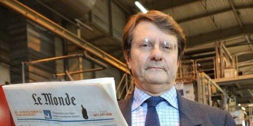 Érik Izraelewicz, ancien directeur de la rédaction du quotidien (il est hélas décédé en 2012)