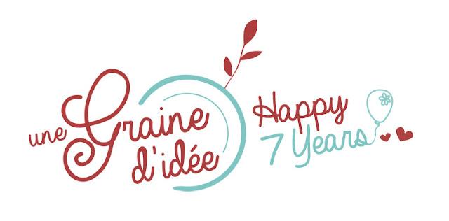 Rétrospective 2017 Bonne Année Voeux Happy 7 ans Une Graine d'Idée