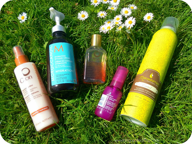 A picture of my Top 5 Hair Care Products for Happy, Healthy Hair