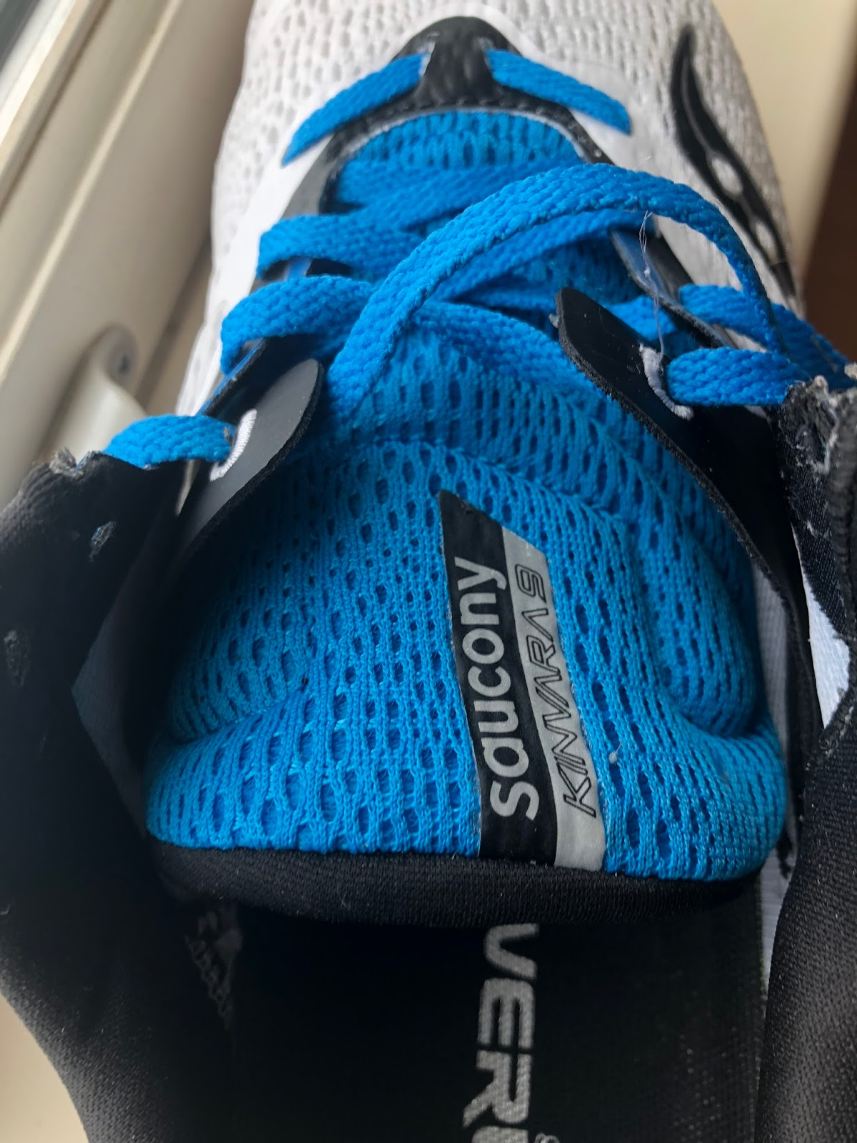 26b843eaa Saucony FINALLY made the Pro-Lock system an integral and useful part of the lacing  system. This is by far the best implementation of the Pro-Lock system.