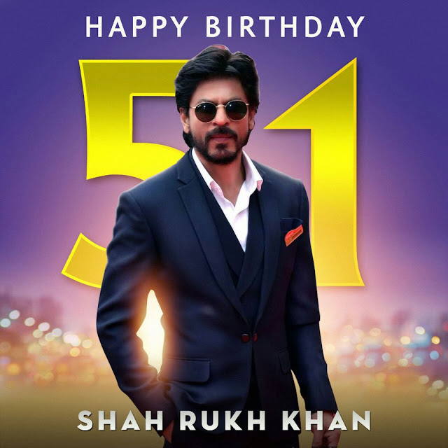 Shah Rukh Khan birthday, srk 51st birthday
