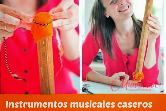 instrumentos, reciclar, infantil, fiesta manualidades