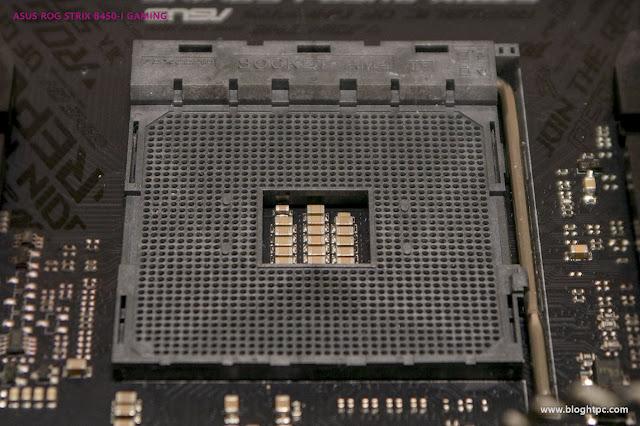 DETALLE ASUS ROG STRIX B450-i GAMING
