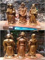 Patung Keramat Klenteng Cheng Ho