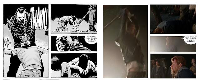 A morte de Glenn por negan