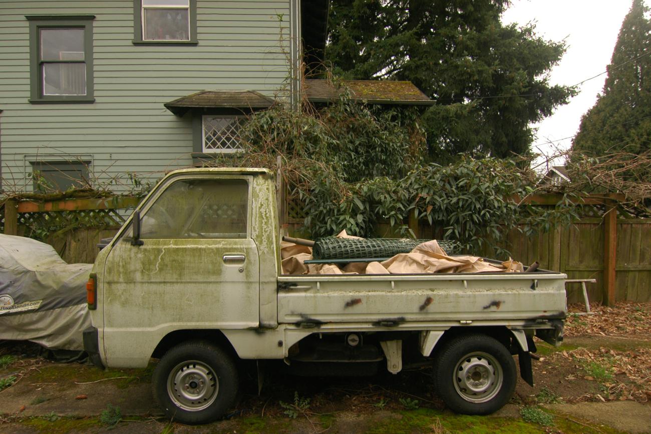 old parked cars 1987 honda acty super deluxe. Black Bedroom Furniture Sets. Home Design Ideas