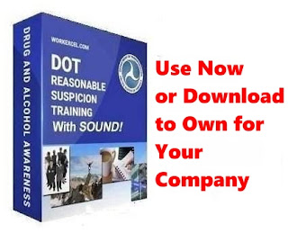 Click link in right hand side for Reasonable Suspicion Training