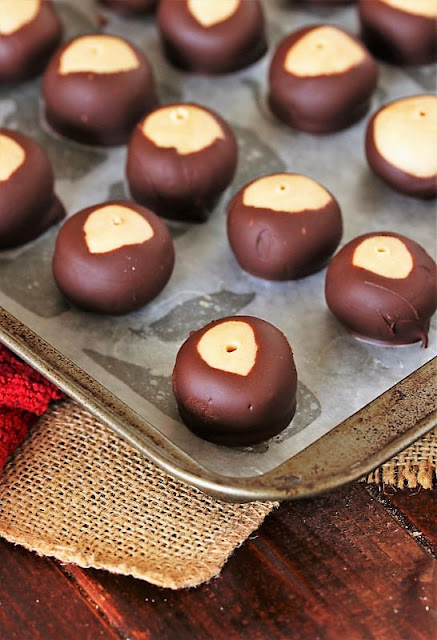 How to Make Peanut Butter Buckeyes Image