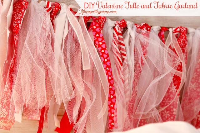 handmade, maker, homemade, craft, valentine, garland, decorations, athomewithjemma