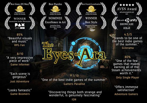The Eyes of Ara Ratings, Awards & Remarks