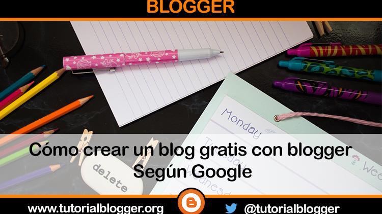 Cómo crear un blog con blogger de forma fácil
