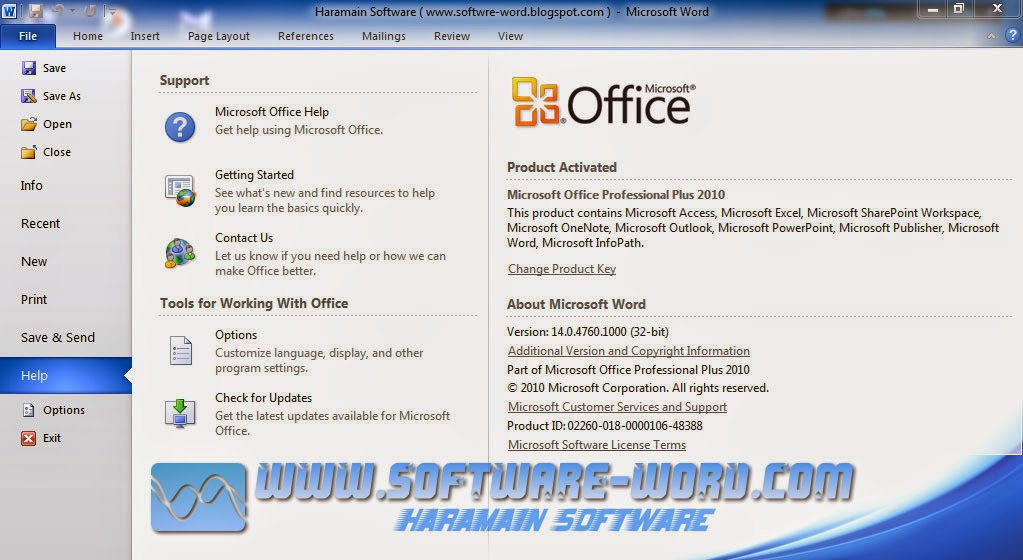 download office 2010 professional full version
