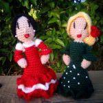 http://manitascrocheteras.blogspot.com.es/2017/05/flamenca-amigurumi.html