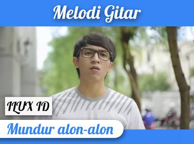 Melodi Gitar Mundur Alon-Alon by ILUX ID, Belajar Petikan Not Angka Mudah