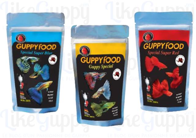 """GuppyFood • Gamme Guppy """" Super Special """" 80gr"""