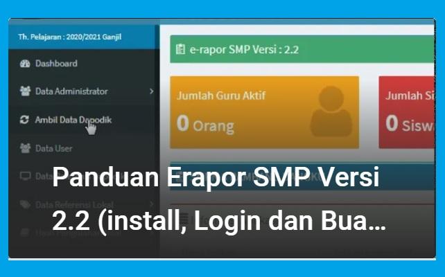 gambar panduan erapor smp 2.2