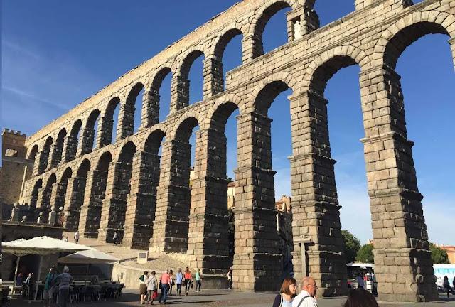 Segovia in spain
