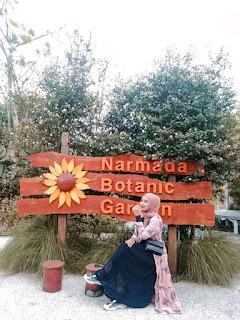 Kebun Bunga, Narmada Botanic Garden