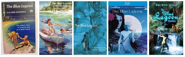 A kék lagúna könyv borítók