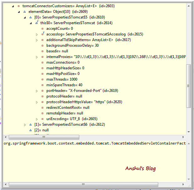 Anshul's Blog: How to check embedded Tomcat server