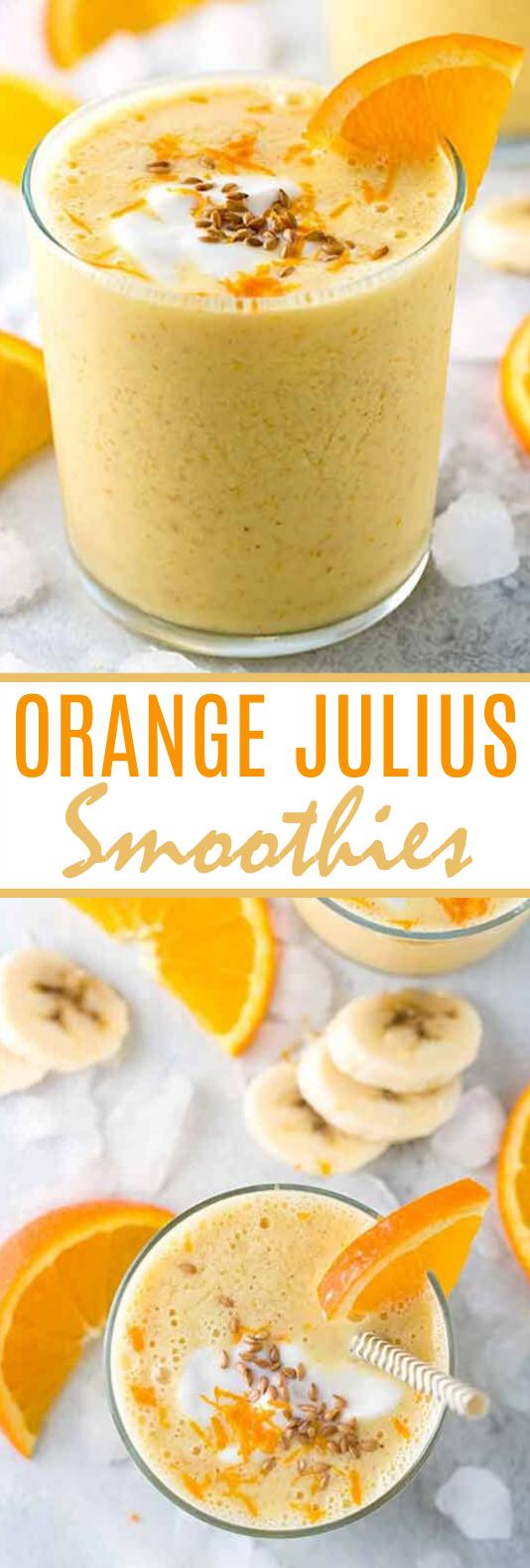 Orange Julius Smoothie #drinks #smoothies #healthy #breakfast #juice
