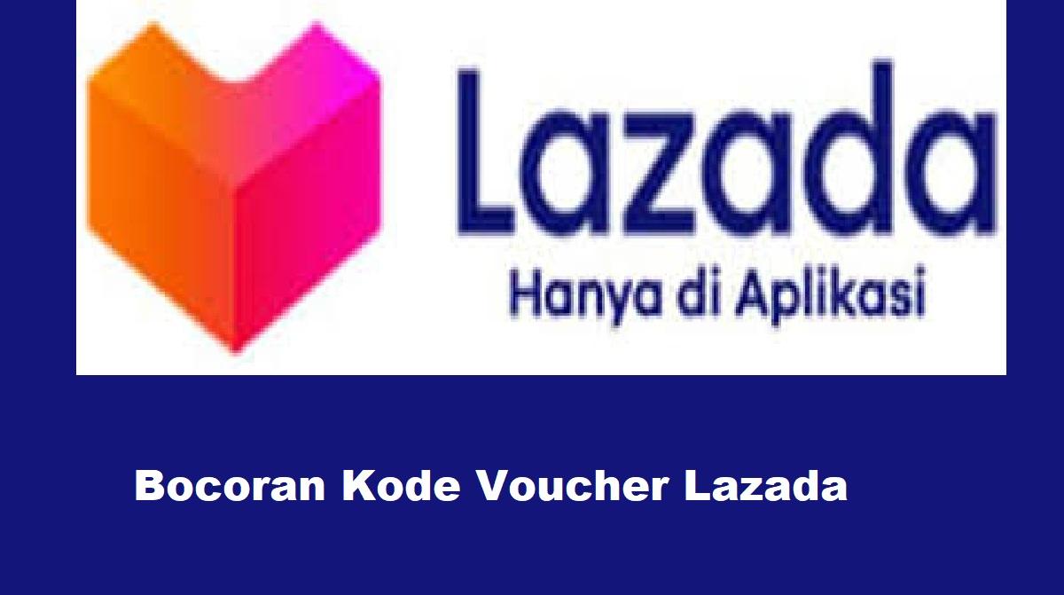 Bocoran Kode Voucher Lazada